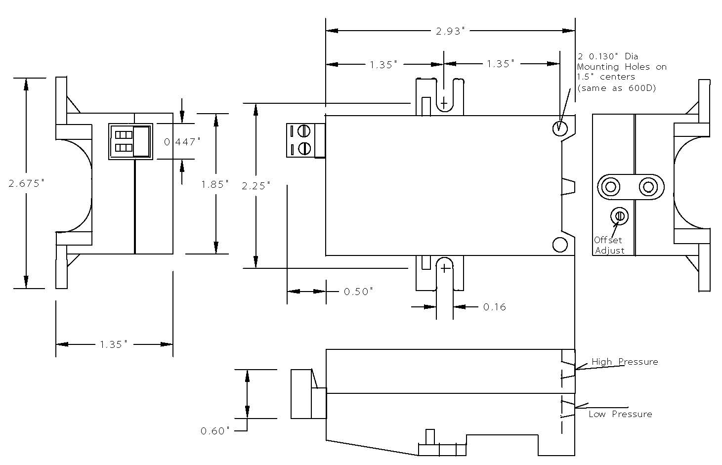 Series 880 Two Wire: 4-20mA Pressure Transducer - Controller Sensors